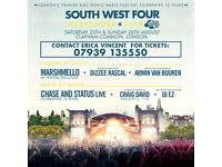 SW4 - South West Four Festival SATURDAY Paper Tickets For Sale - 25th Aug 2018 - Official Seller
