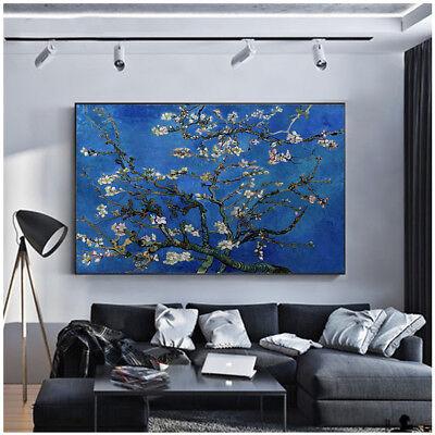 Vincent Van Gogh Almond Tree Blossom Canvas Oil Fine Wall Art Giclee Prints