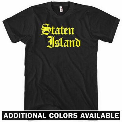STATEN ISLAND T-Shirt - Gothic - New York City NYC 718 CUNY - NEW XS-4XL