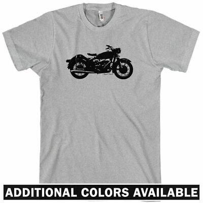 VINTAGE MOTORCYCLE T-shirt - Moto Bike Cafe Racer Sport Cruiser - NEW XS-4XL (Cruiser Bike Shirts)