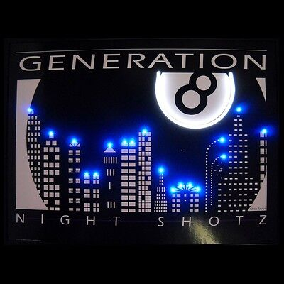 Generation 8 Night Shotz Neon / LED Lighted Picture 3SHOTZ w/ FREE Shipping