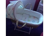 Moses Basket Never Used Brand New