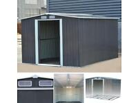10 x 8ft brand new metal shed