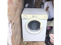 White goods white knight 3kg tumble dryer used