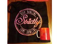 Strictly Come Dancing tote bag and mug (never used)