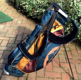 Awesome Ultra Light Sun Mountain Golf Stand Bag Cost £139 Mint Condition!!!