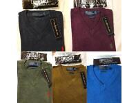 Ralph Lauren 100% V neck Sweaters Small-XXL