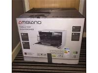 Ambiano dishwasher brand new in box with salt And detergent