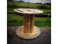 Cable Drum to make as a garden table
