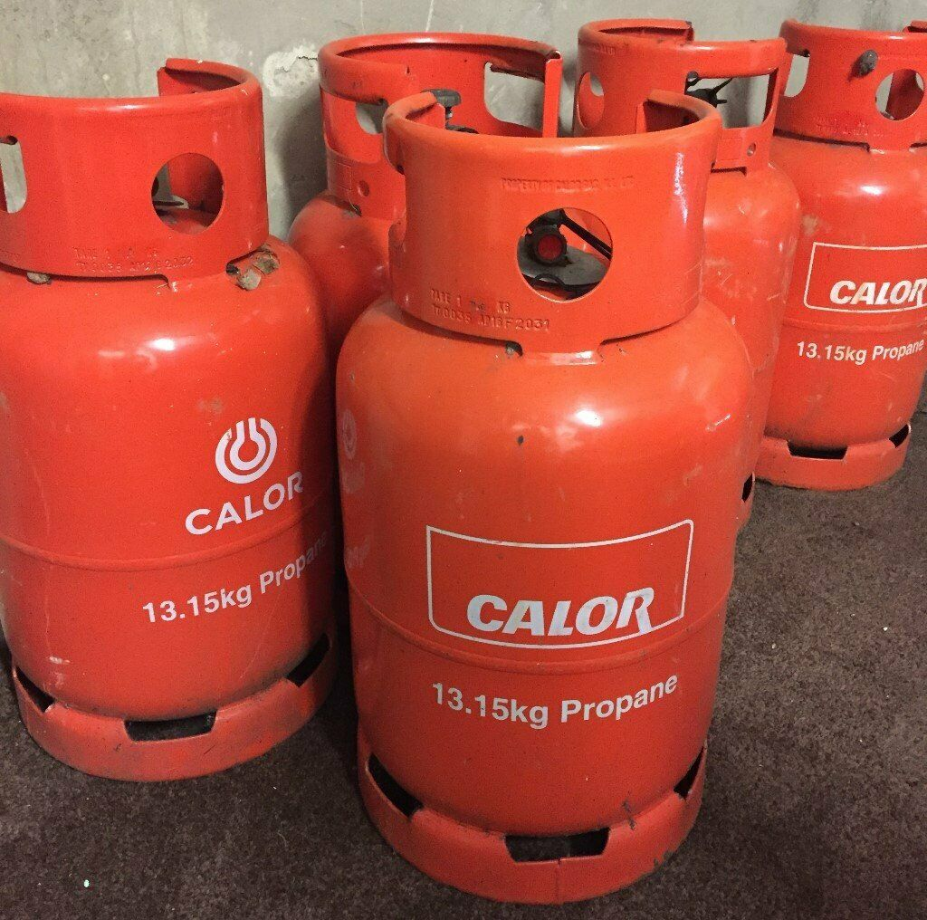 Empty Calor 13.5 kg Propane Gas Bottle Cylinders x 3 | in ...