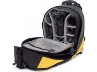 LOWEPRO DRYZONE 200 WATERPROOF BACKPACK - Yellow RRP £350 Brand New No Tags