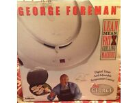 George Foreman grill with digital timer