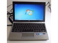 HP Elitebook 2170p laptop 320gb hd 6gb ram Intel Core i5 - 3rd generation processor