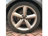 Audi Alloy wheels & tyres 18""