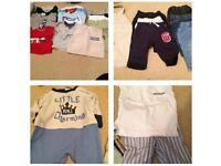 Newborn Boys Clothes Bundle 20p EACH - 24 ITEMS!