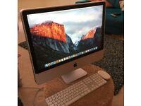 Apple iMac 2008 - 24inch Screen . 1IB Hard drive. 4Gig Ram. Refurbished and factory reset.
