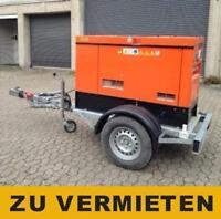 Stromgenerator 20 KVA  auf Anhänger mit Straßenzul.- Zu VERMIETEN Nordrhein-Westfalen - Dinslaken Vorschau