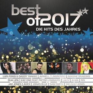 Best of 2017 - Die Hits des Jahres - 2 CD NEU/OVP