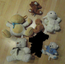 Assorted Cuddly Toys (x6)