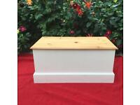 Solid wooden toy / blanket box