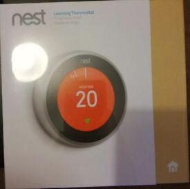 Brand new unopened Nest Learning Thermostat