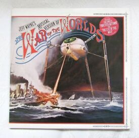 Jeff Wayne's 'War of the Worlds' original C1978 vinyl double LP