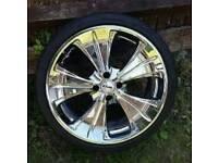 """18"""" Chrome Alloys - VW, BMW, E30, Nissans, Toyotas, Mini"""