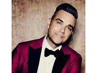 Robbie Williams tickets x2 3rd June Manchester