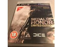 PS3 game medal of honour