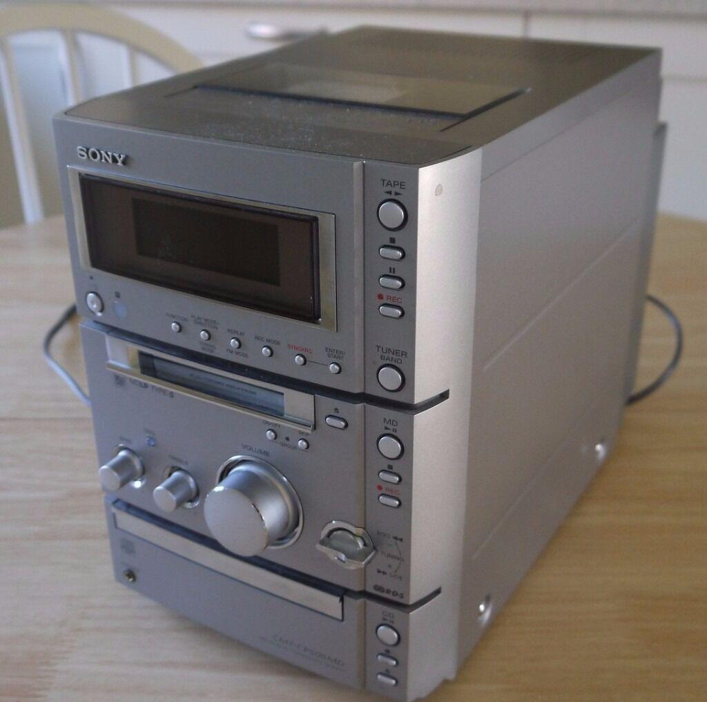 Sony CMT CP33MD CdMini DiscCassette TapeFM Micro Hi FI  : 86 from www.gumtree.com size 1024 x 1016 jpeg 79kB