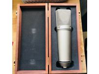 Neumann U 87 Ai Large-diaphragm Condenser Microphone immaculate condition!!!