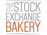 Chef wanted to join our small team at The Stock Exchange Bakery