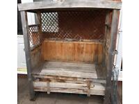 Garden Bench With Underneath Storage