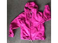 Tog 24 girls women's waterproof coat jacket with fleece.