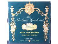 The Beethoven Symphonies No.7 (A Maj) Op.92 12 inch VINYL