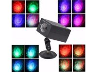 Disco DJ Lights led stage lights, 16 Colors Water ripples