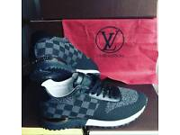 louis vuitton black runners sneakers trainers new in box bargain size 6 7 8 9 10 11