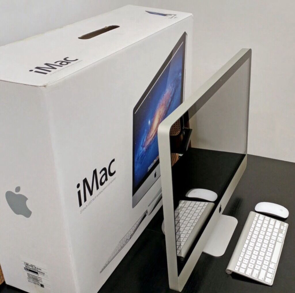"""Apple IMac 2010, 27"""" with 1TB hard drive 12gb RAM and 3ghzin Waterlooville, HampshireGumtree - APPLE IMAC 27"""" with box, Magic Mouse and keyboard. From a pet and smoke free home. This is a wonderful and powerful computer and the only reason we are selling it is to upgrade. Its fast, reliable and overall great condition. I have. Taken good care..."""