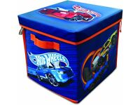 Hot Wheels A1686XX ZipBin 300 Car Storage Cube and Playmat (NEW in Box)