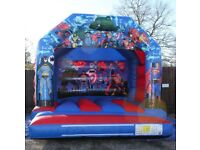 SUPER HERO BOUNCY CASTLE for hire / Popcorn & Candy Floss / Hot Dogs + more / Essex & London