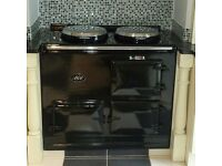 Reconditioned AGA Cookers in a choice of Colours, 13amp Electric with a 7 day digital programmer.