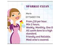 Domestic Cleaning and ironing services available