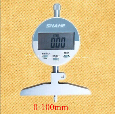 0-100 Mm Electronic Digital Depth Gauge Measurement Tool With High Precision