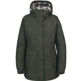 Women's khaki Tresspass jacket size small (8-10)