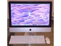 "Apple iMac 21.5"" Core i3, 500GB HDD, 8GB RAM * Photoshop, Final Cut, Logic Pro*"