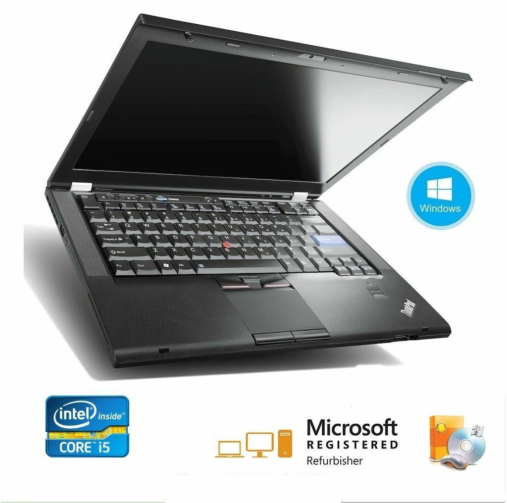 "ThinkPad T420 14.0"" Laptop   i5 2520M (2.50 GHz) 250GB  4 GB Memory WIN 10"
