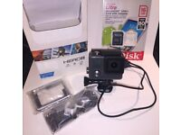 GoPro Hero+ Hardly used + 16gb Micro Sd card