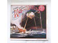 Jeff Wayne's 'War of the Worlds' original C1978 vinyl double LP