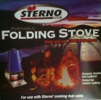 Sterno Folding Stove New Never Used
