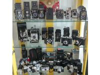 Camera collection antique and vintage